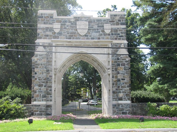 Entry Arch into Drew University campus