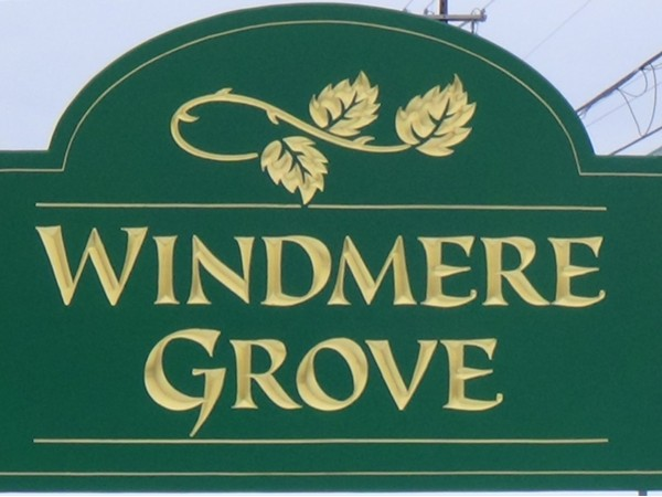 Windmere Grove has gorgeous high end homes ranging from low 800's to high 900's