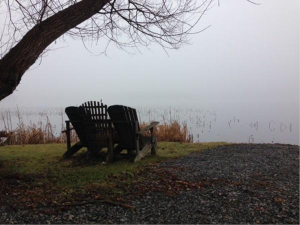 Fall day by Swartswood Lake