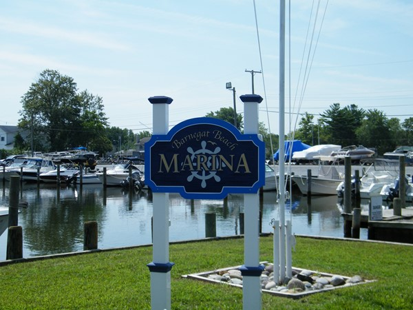 The marina for residents of Barnegat Beach