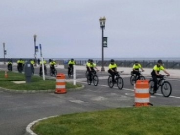 The Long Branch Police Shape Up for summer 2018