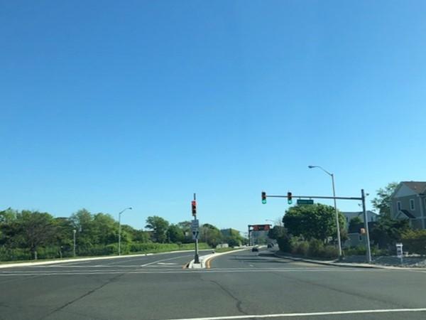 Beautiful morning on Ocean Avenue