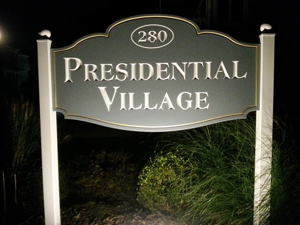 Presidential Village is a townhouse community directly across from 7 President's Oceanfront Park