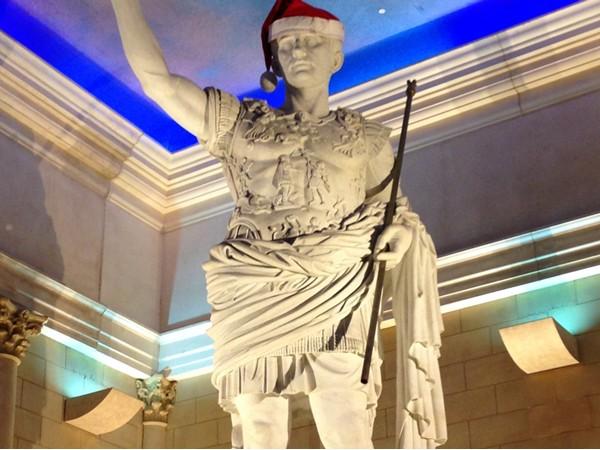 Merry Christmas, Caesar!