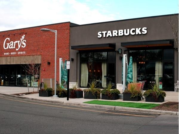 Starbucks, Gary's, and Chipotle