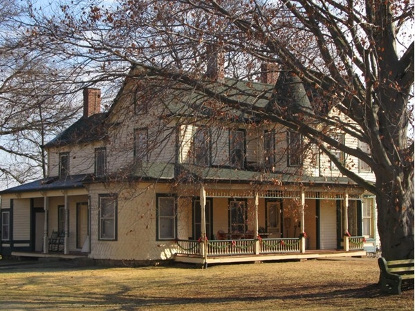 King Homestead Museum, Ledgewood NJ, in Roxbury Twp. Circa 1881