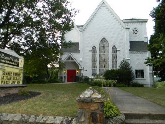 Round Valley United Methodist Church in Lebanon Borough