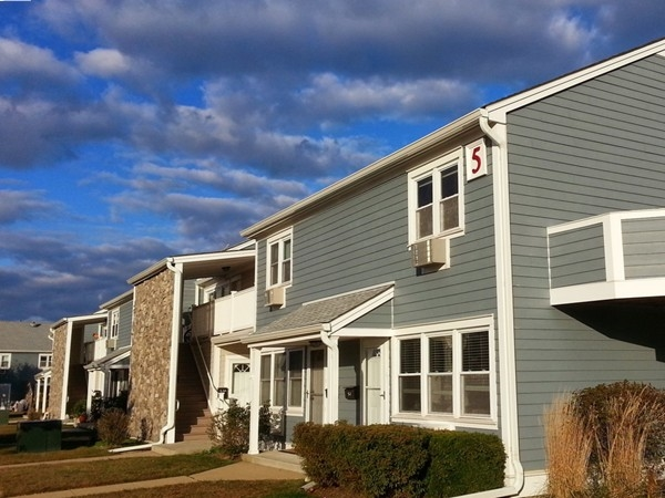 Breakwater Cove in Monmouth Beach is a mix of one apartment style and two bedroom townhouse condos.