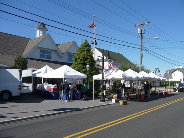 Summer is back and so is the Farmers' Market on Beach Road in Monmouth Beach