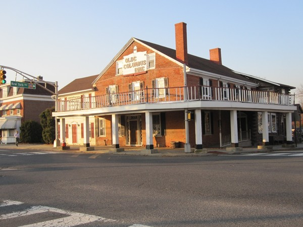 The Old Columbus Inn, a piece of history built in 1812!