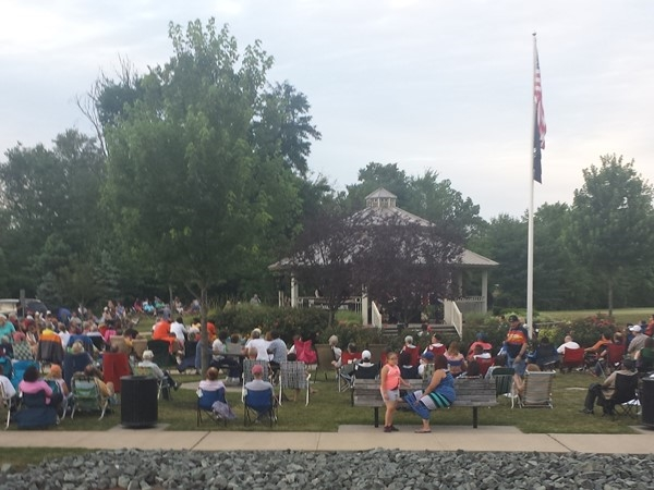 Concerts in the park every Thursday night during summer is always a great time