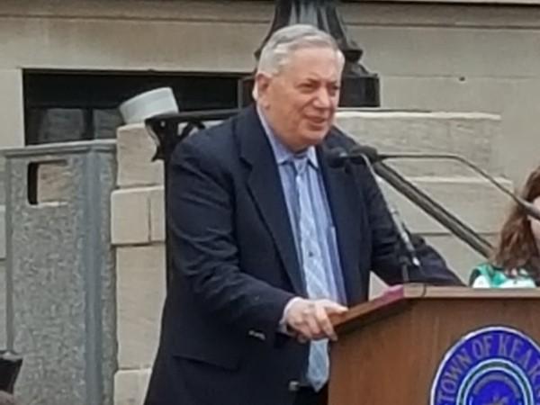 Mayor Sacco Celebrates with Kearny