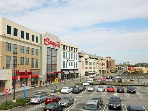 The recently renovated and renamed Outlets at Bergen Town Center