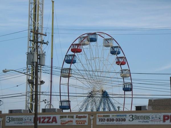Ferris Wheel at Seaside Heights Boardwalk