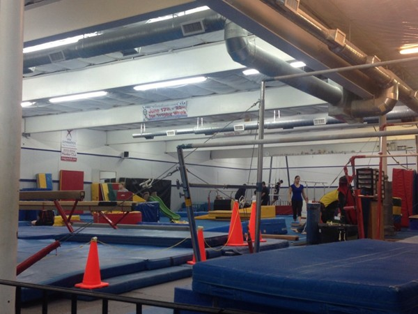 Inside Surgent's Elite School of Gymnastics. There are classes for all ages!