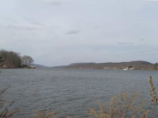 Greenwood Lake, looking north from Browns Point