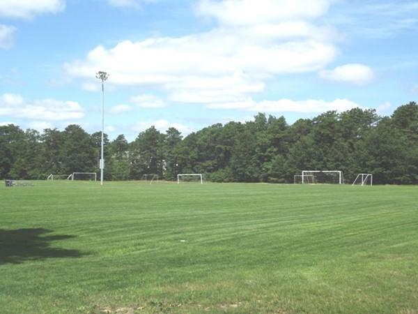 Soccer field at Doc Cramer Sports Complex
