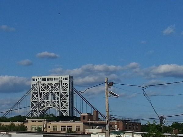 Another angle of George Washington Bridge