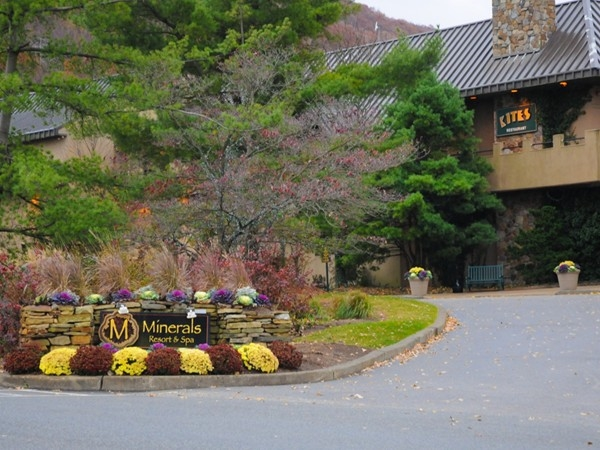 Spend a relaxing day at minerals Resort and Spa