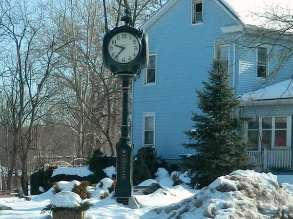 Belvidere's town clock