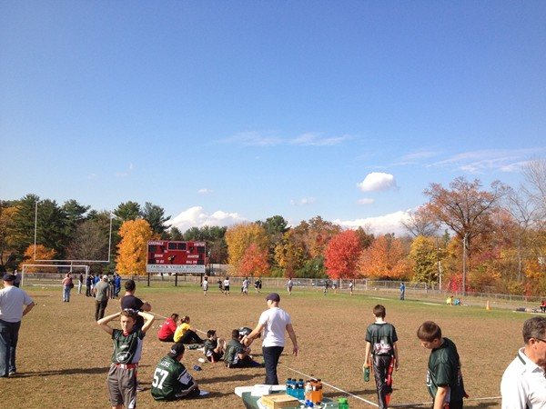 Flag Football Program, over 230 kids