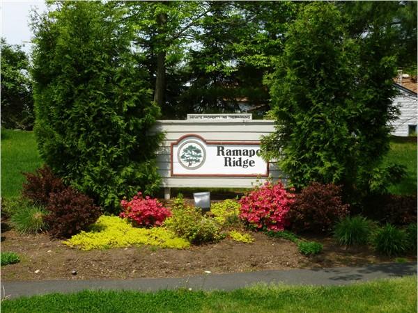 Ramapo Ridge entrance