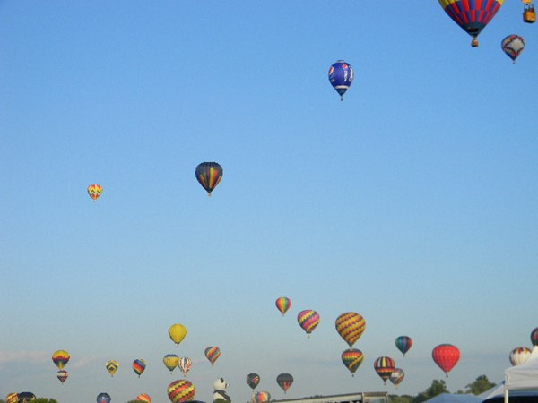 Balloon Festival 2015. Up, up and away