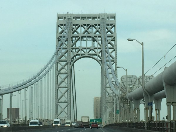 George Washington Bridge...from Fort Lee to New York City