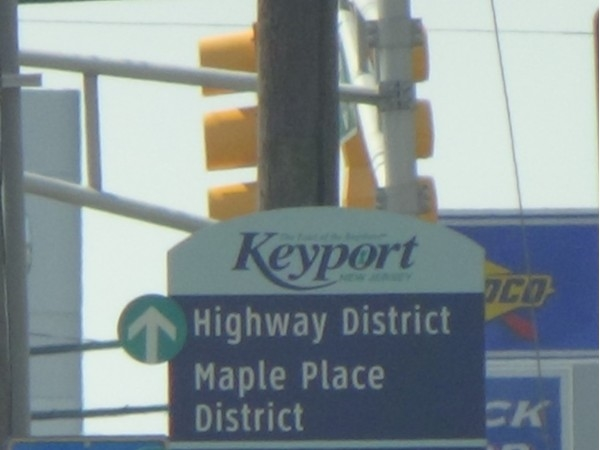 Keyport Business District Signage