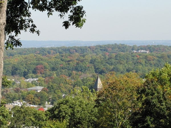 Early fall views from top of Fort Nonsense, Morristown