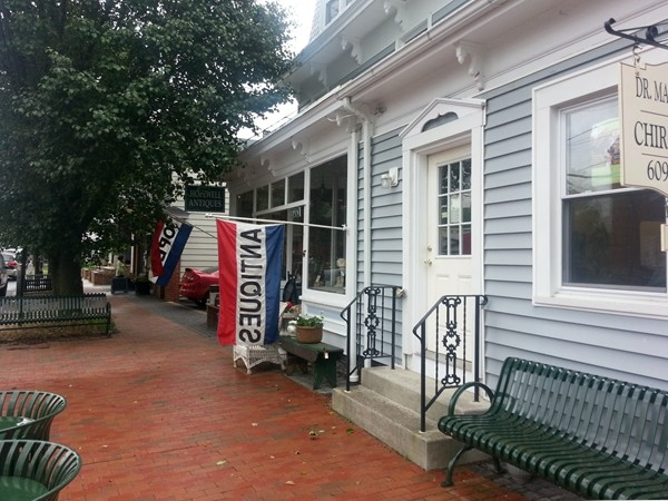 One of the Antique shops on Broad Street in Hopewell Borough