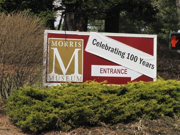 The Morris Museum sign