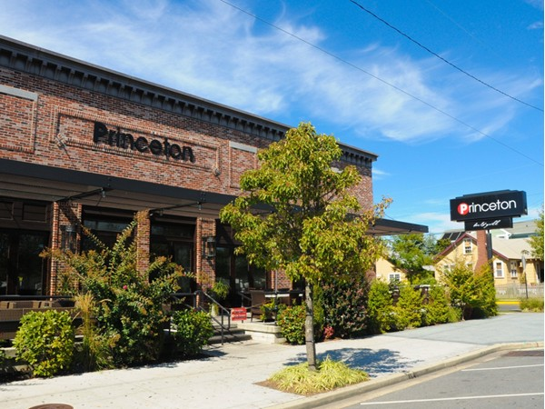 The Princeton is a great spot for dining and entertainment