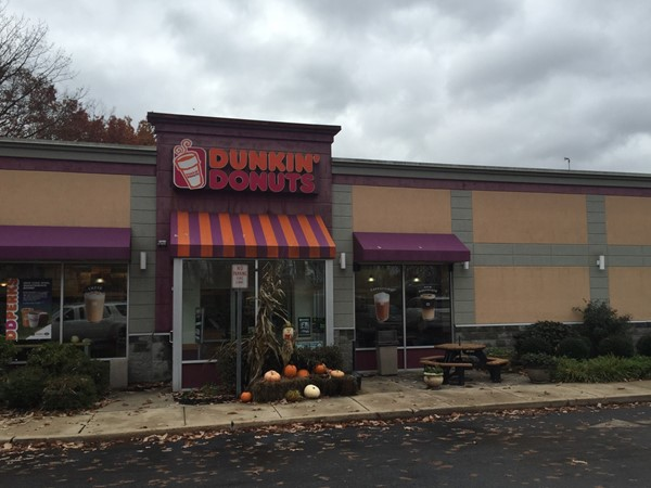 Looks like fall is all around us! Even Dunkin' Donuts on Gordons Corner Rd is celebrating the season