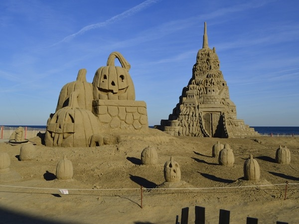 A record breaking sandcastle...