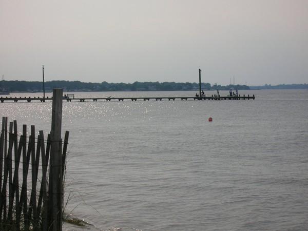 Ocean gate fishing pier