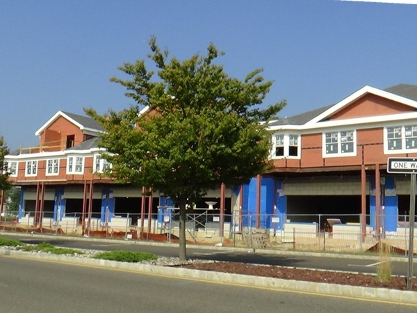 The new strip mall on Main Street