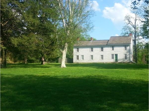 The Clark House, now an American Revolution museum, was a field hosptial during the Revolution