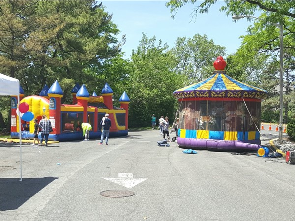 Bouncing at Re/Max Infinity Rescue Event. Proceeds go to the Secaucus Animal Shelter