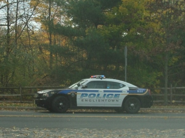 Englishtown tax dollars at work:  new police cars