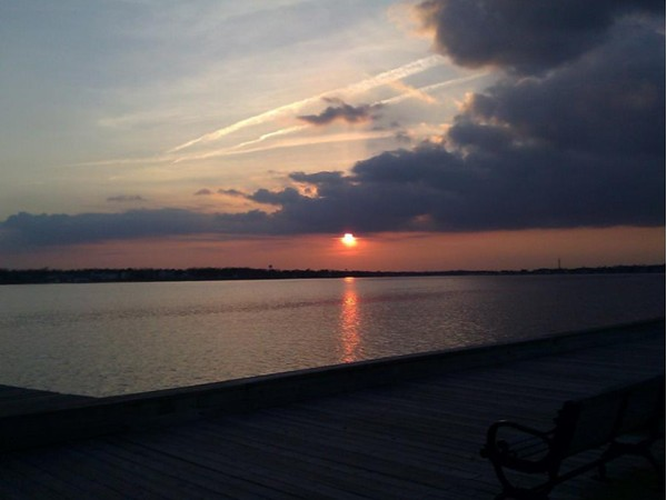 Toms River sunset