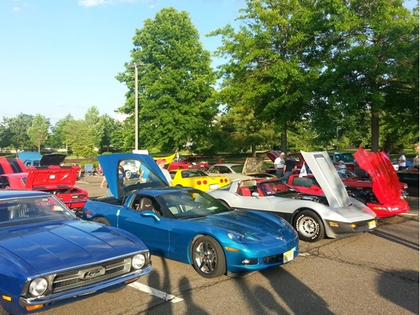 Weekly car show at the Shoppes at Foxmoor in Robbinsvile -- Thursday evenings 5:00 to 9:00