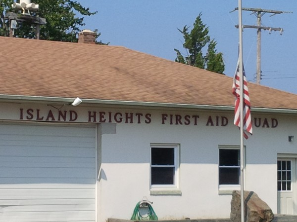 Island Heights First Aid building