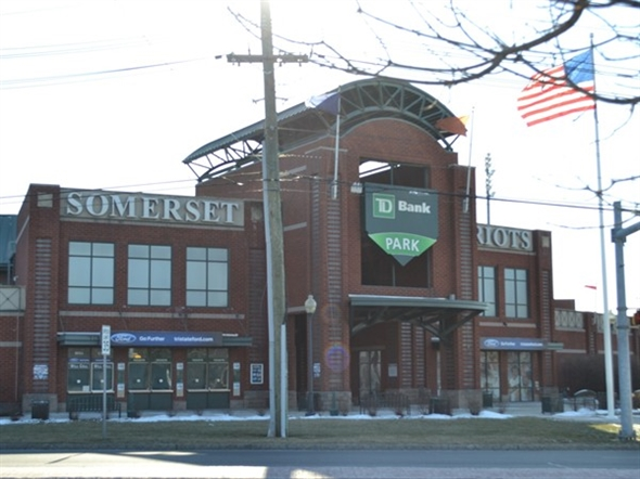 Come check out the Somerset Patriots at TD Bank Ballpark