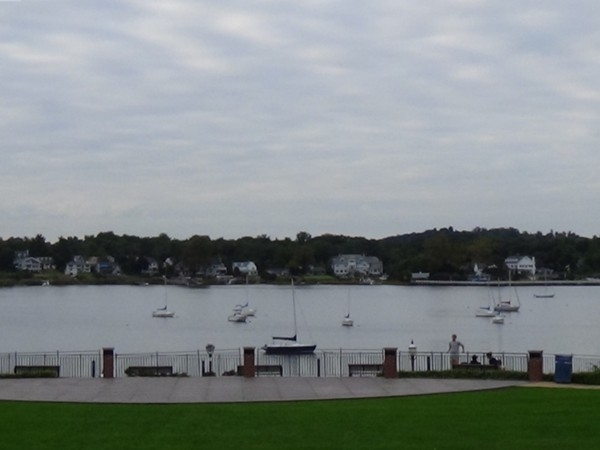 Riverside Garden's Park overlooking the Navesink River in Red Bank