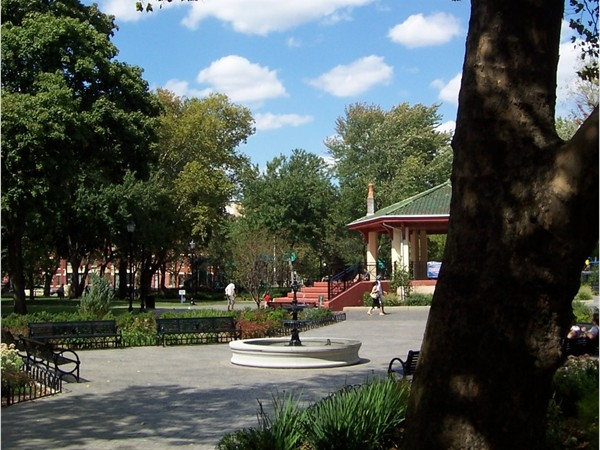 Hamilton Park is one of my favorite parks in Jersey City