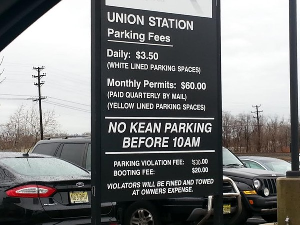 Parking Info at Union Station