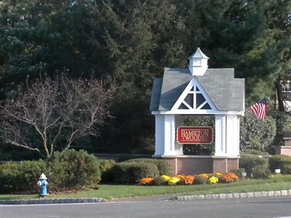Hamilton Woods main entrance