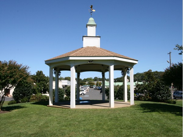 Little Silver's Gazebo right in the heart of town