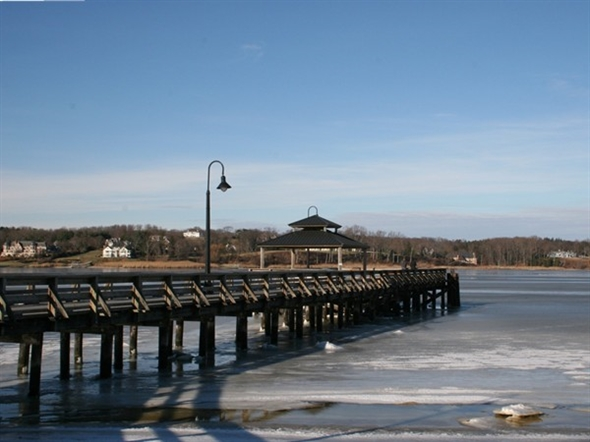 Winter on the Navesink River